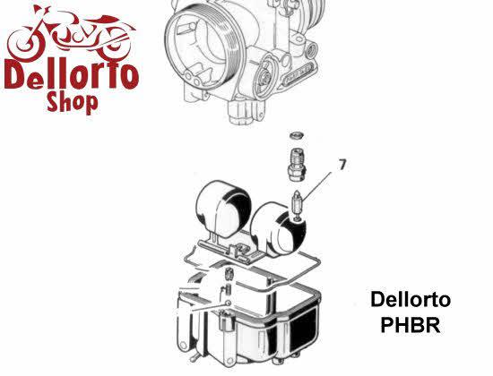 dellorto phbr carburetor parts