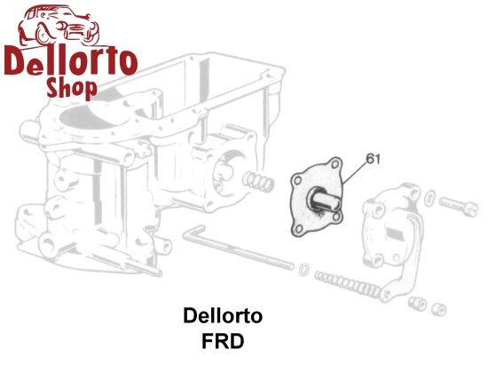 dellorto frd carburetor parts