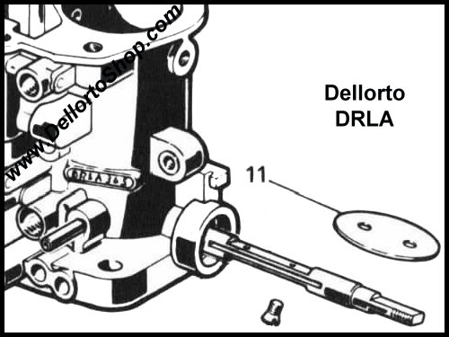Dellorto Drla Carburetor Parts