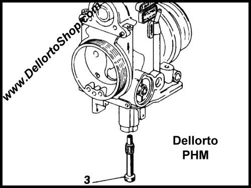 Dellorto Phm Carburetor Parts