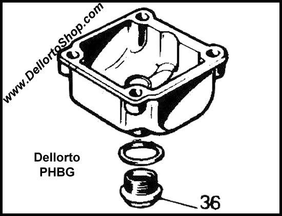 Dellorto Phbg Carburetor Parts