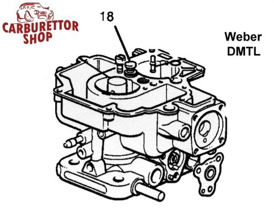 Weber Dmtl Carburetor Parts