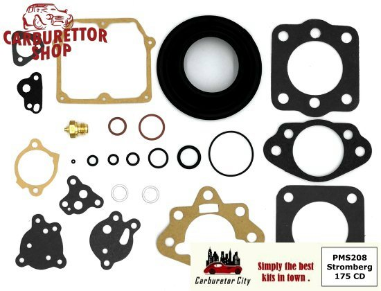 Stromberg 175CD Carburetor Parts and Service Kits